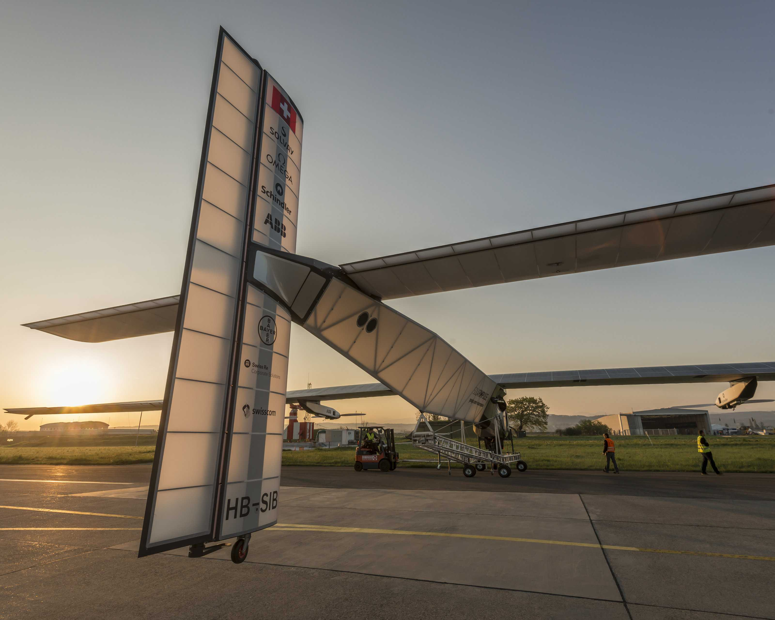 Solar Impulse HB-SIB | © Jean Revillard