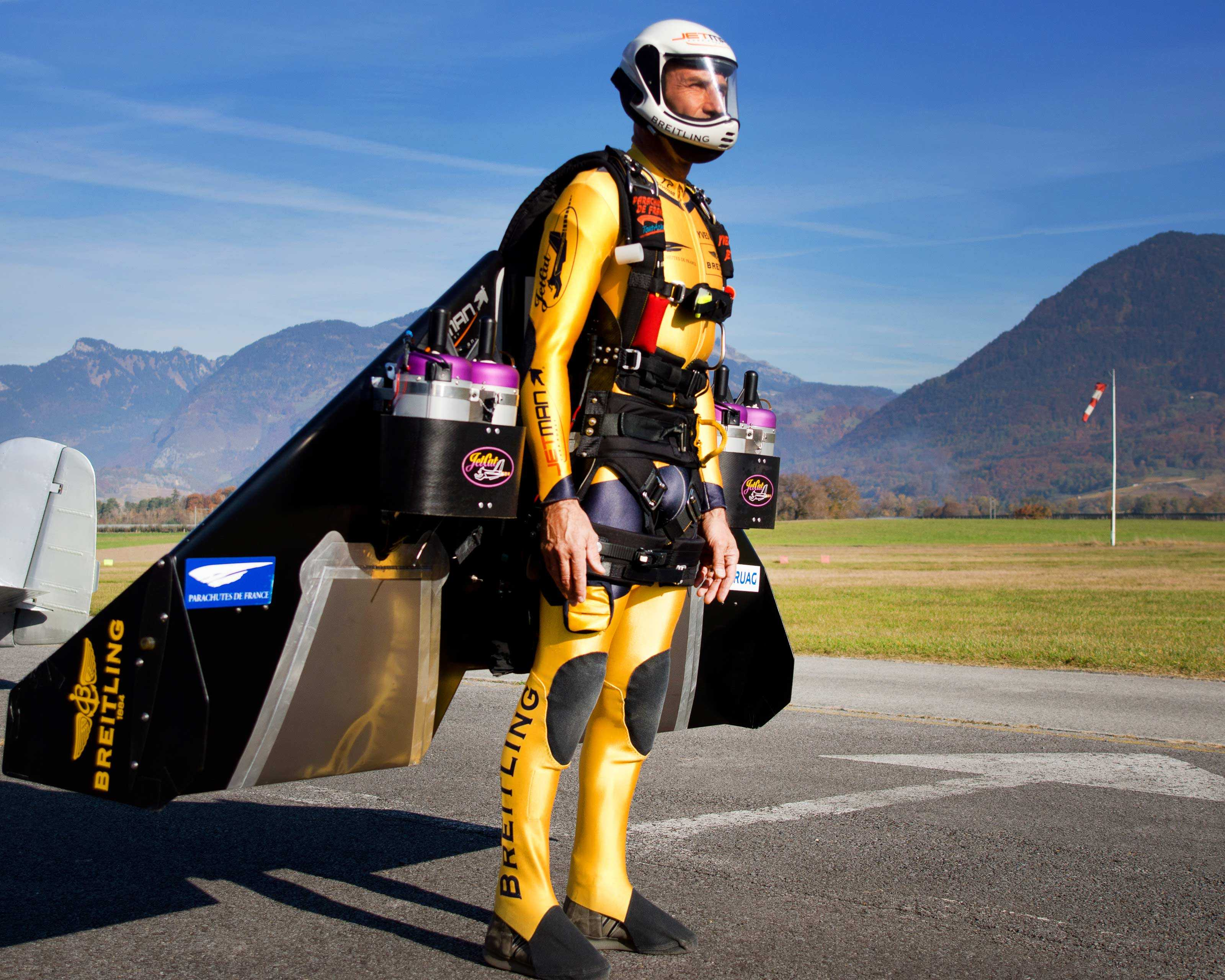 Decision Wing For Yves Rossy Alias Quot Jetman Quot