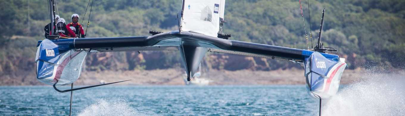 Groupama Team France / Class AC Test